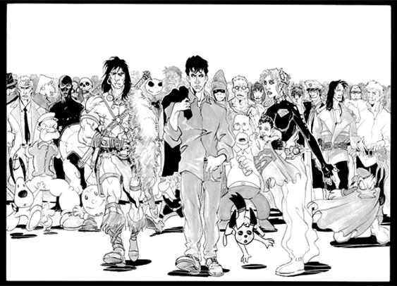 Accademia del fumetto la scuola degli autori for Disegnatori famosi